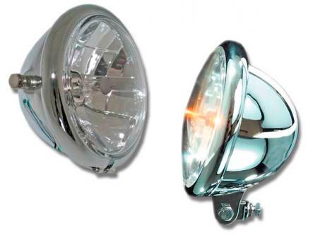 Scheinwerfer Bates Style 5 3/4 Zoll, Klarglas, E-geprüft