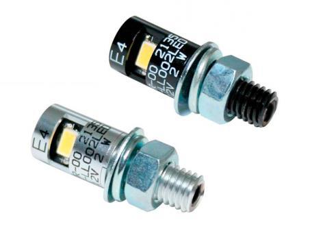 LED-Nummernschildbeleuchtung ROUND, E-geprüft