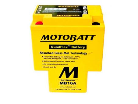 MOTOBATT Batterie MB16A für Honda VT 1100 Modelle