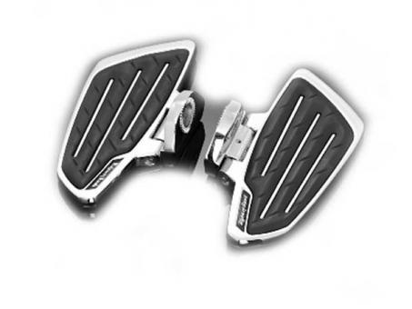 Sozius-Trittbretter New Tech Glide für Yamaha XVS 650 und XVS 1100 Drag Star