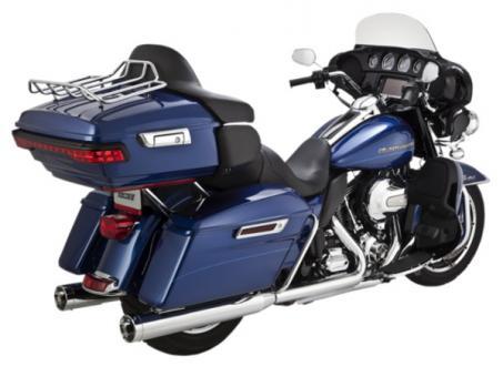 Vance & Hines Monster Round Slip-Ons für H-D Touring Modelle bis 110cui, E-geprüft