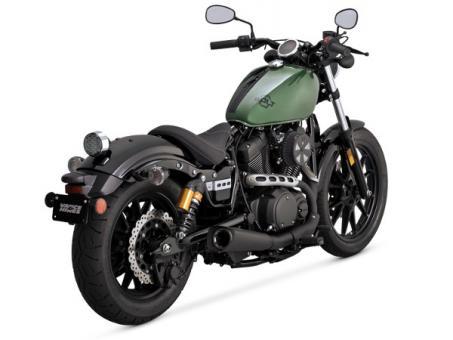 Vance & Hines Competition schwarz, Slip On Dämpfer für Yamaha XV 950 R und XV 950 ABS