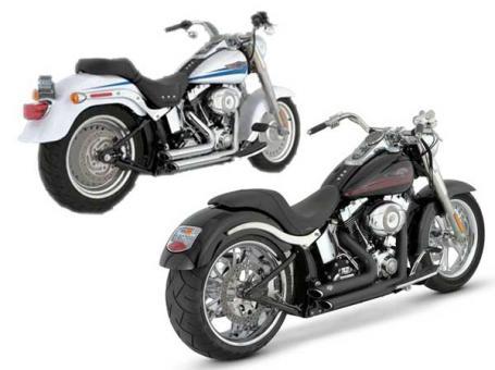 Vance & Hines Short Shots staggered für Harley-Davidson® Softail Modelle